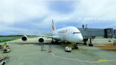Read more: Farewell flight of Air France Airbus A380