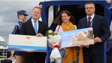 Read more: Franjo Tuđman Airport welcomes the millionth passenger in 2019