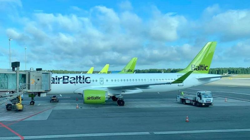 Air Baltic Airbus A220-300