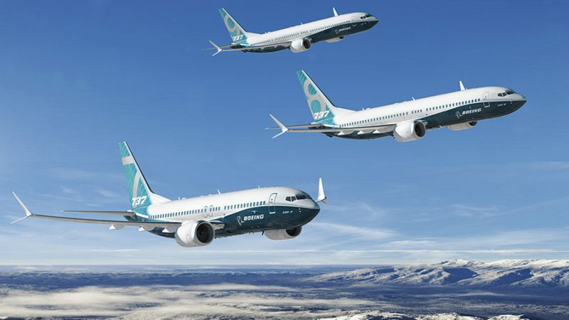 Boeing max family
