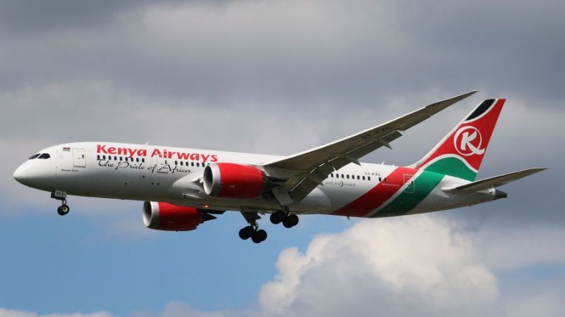 Kenya Airways Boeing 787-8 Dreamliner